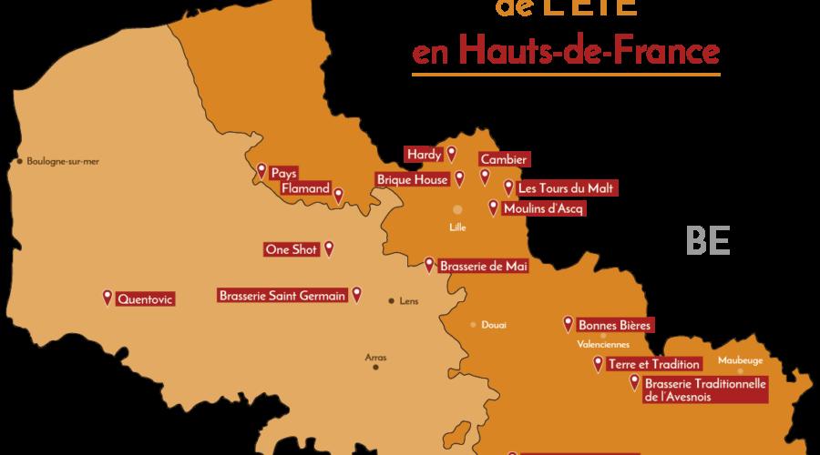 Vos Taprooms de l'été dans le Nord-Pas de Calais